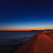 Today's Fall Sunrise  at Narragansett Town Beach, Narragansett, RI,  December  12, 2013. #waves #beach #rhodeisland #sunrise
