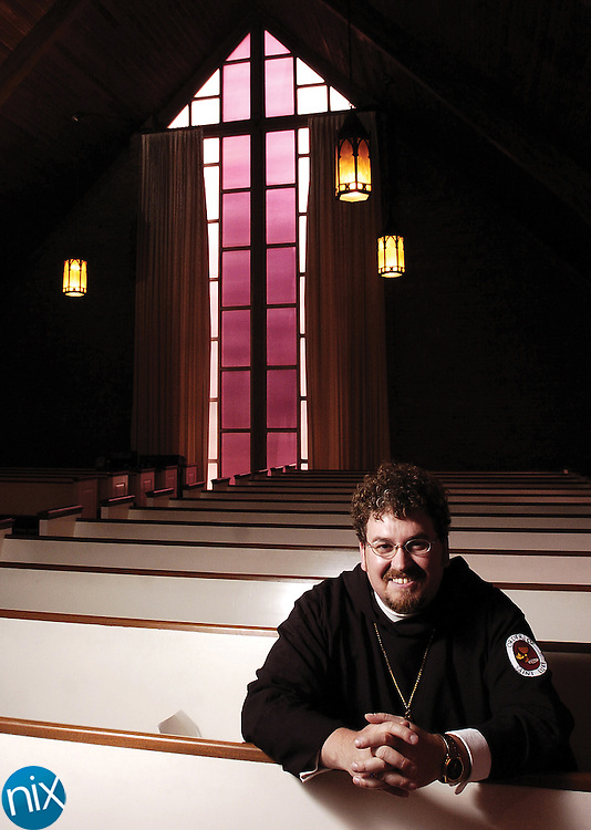 Curtis Goforth, minister of the Badin United Methodist Church.