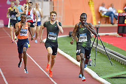 July 20, 2018 - Monaco, France - 1000 metres homme - George Meitamei Manangoi (Kenya) - MISCHLER Baptiste Mischler (France) - Solomon Lekuta  (Credit Image: © Panoramic via ZUMA Press)