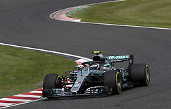October 6, 2018 - Suzuka, Japan - Motorsports: FIA Formula One World Championship 2018, Grand Prix of Japan, .World Championship 2018 Grand Prix Japan#77 Valtteri Bottas (FIN, Mercedes AMG Petronas) (Credit Image: © Hoch Zwei via ZUMA Wire)