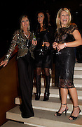 Virginia Bates, Nancy dell'Olio and Giulia Constantini, Donna Karan Party to celebrate 20 Years  as a designer.  Showroom in New Bond St. 21 September 2004. DoSUPPLIED FOR ONE-TIME USE ONLY-DO NOT ARCHIVE. © Copyright Photograph by Dafydd Jones 66 Stockwell Park Rd. London SW9 0DA Tel 020 7733 0108 www.dafjones.com