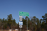 On the way to Murphy Village, on Edgefield Road.<br /> Murphy Village, North Augusta, South Carolina is a community of around 2000 Irish Travellers who settled there in the late 60s. They bought some land, following the advice of Catholic priest Father Murphy who also had a catholic church, St Edward, built in Murphy village.