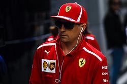 May 13, 2018 - Barcelona, Catalonia, Spain - 07 Kimi Raikkonen from Finland Scuderia Ferrari SF71H portrait during the Spanish Formula One Grand Prix at Circuit de Catalunya on May 13, 2018 in Montmelo, Spain. (Credit Image: © Xavier Bonilla/NurPhoto via ZUMA Press)