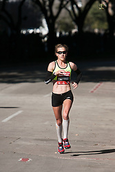 Amy Hastings, entering home stretch, 4th in women's marathon