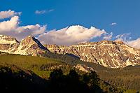 San Juan Mountains (range in the Rocky Mountains) near Telluride, Colorado USA