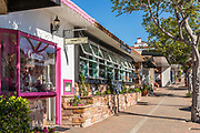 Shops in Downtown San Clemente on Del Mar Street