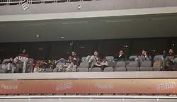 Luka Rupnik, Edo Muric, Jaka Blazic during basketball match between KK Cedevita Olimpija and KK Rogaska in 2nd Round of Liga za prvaka of Nova KBM League 2020/21, on March 4, 2021 in Arena Stozice, Ljubljana, Slovenia. Photo by Vid Ponikvar / Sportida