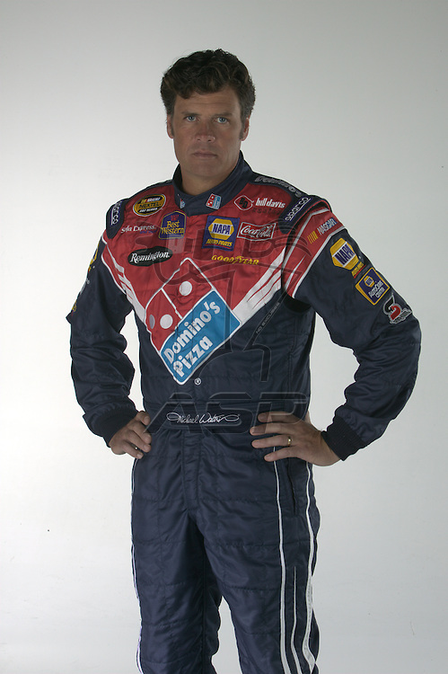 Concord, NC - Nov 29, 2005:  The No 55 Domino's Pizza Toyota Camry is photographed at D3 Studios in Concord, NC.