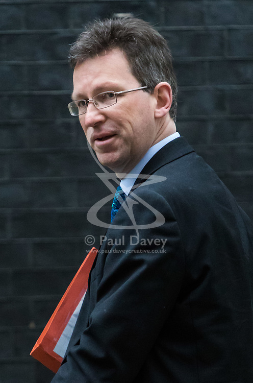 London, December 05 2017. Attorney General Jeremy Wright arrives at 10 Downing Street to attend the weekly cabinet meeting. © Paul Davey