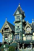 The Carson Mansion, Eureka, California.