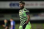 Forest Green Rovers Destiny Oladipo(39) during the FA Youth Cup match between Forest Green Rovers and Helston Athletic at the New Lawn, Forest Green, United Kingdom on 29 October 2019.