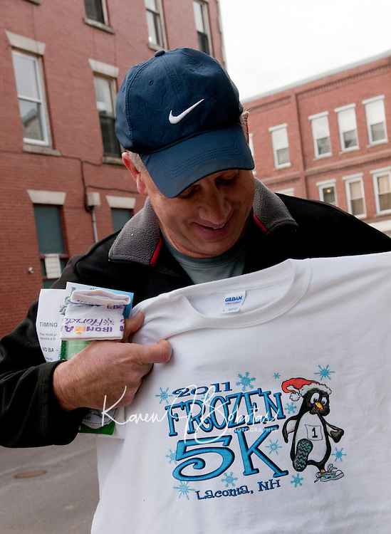 The Frozen 5K event to benefit the WLNH Children's Auction December 10, 2011.