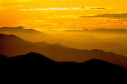 Image of mountains and rolliing hills from Blue Ridge Parkway's Skyline Drive at Shenandoah National Park, North Carolina and Virginia, east coast by Randy Wells
