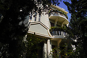 Eclectic Style Architecture In Tel-Aviv, Israel Grouse House at 9 Bialik Street was designed by the architect Philip Hutt in 1928 in the Eclectic Style