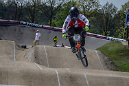 #51 (W?LHK Andreas) DEN at the 2016 UCI BMX Supercross World Cup in Papendal, The Netherlands.