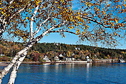 Autumn, Seal Harbor, Mount Desert Island, Maine, ME, USA