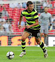 Celtic FC vs Al Ahly Wembley Cup 24/07/09<br /> Photo Nicky Hayes/Fotosports International<br /> Massimo Donati of Celtic on the ball.