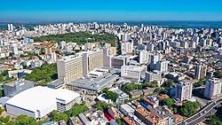 Porto Alegre, RS - 28/02/2020: Blocos C e D do Hospital de Clínicas de Porto Alegre. Foto: Jefferson Bernardes/PMPA