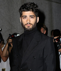 September 7, 2016 - New York, New York, United States - Zayn Malik attending the Tom Ford fashion show during New York Fashion Week on September 7, 2016 in New York City  (Credit Image: © Nancy Rivera/Ace Pictures via ZUMA Press)