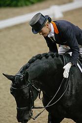 Van Grunsven Anky (NED) - IPS Painted Black<br /> World Cup Final Las Vegas 2009<br /> Photo © Dirk Caremans