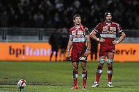 Johan Goosen - 31.01.2015 - Lyon OU / Racing Metro 92 - 17eme journee de Top 14<br />Photo : Jean Paul Thomas / Icon Sport