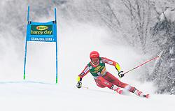 Leif Kristian Nestvold-Haugen of Norway during 1st run of Men's Giant Slalom race of FIS Alpine Ski World Cup 57th Vitranc Cup 2018, on 3.3.2018 in Podkoren, Kranjska gora, Slovenia. Photo by Urban Meglič / Sportida