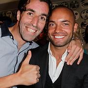 NLD/Amsterdam/20120601 - Opening webshop Sael Shop, Khalid Sinouh en Demy de Zeeuw