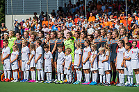 ANTWERPEN -  Line up Oranje  voor de   finale  dames  Nederland-Duitsland  (2-0) bij het Europees kampioenschap hockey.   COPYRIGHT  KOEN SUYK