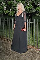LONDON - JUNE 26: Jo Wood attended the Serpentine Gallery summer party, Kensington Gardens, London, UK. June 26, 2012. (Photo by Richard Goldschmidt)