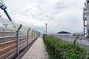 Tokyo Bay with Sarushima Island seen from Umikaze Park in Yokosuka