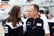 June 12-17, 2018: 24 hours of Le Mans. Toyota mechanics