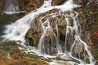 The Sastavci waterfalls (detail), Plitvice National park, Croatia