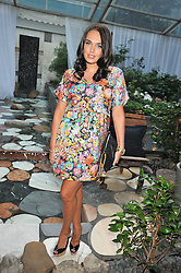 TAMARA ECCLESTONE at the Total Concierge launch party held in the stylish Courtyard Garden at Sanderson, Berners Street, London on 26th May 2009.
