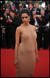 Mallika Sherawat attends the premiere of 'Madagascar 3: Europe's Most Wanted' during the 65th Cannes Film Festival, Friday May 18, 2012. Photo by Andrew Parsons/i-Images.