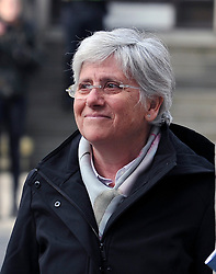 Pictured: Clara Ponsatí <br /> <br /> The European Parliament has voted to lift the parliamentary immunity of former Catalan leader Carles Puigdemont,  ex-education minister Clara Ponsatí and former Catalan health minister Antoni Comín.  The result was announced on Tuesday morning following a secret ballot held by MEPS on Monday evening. MEPS adopted a waiver to strip the politicians of their special protection.<br /> <br /> In Puigdemont's case, MEPs voted by 400 in favour, to 248 against with 45 abstentions, to lift his immunity from prosecution. For Comín and Ponsatí there were 404 votes in favour of the waiver, 247 against, and 42 abstentions.
