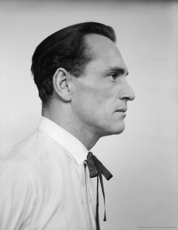 Louis Trenker, actor and director, 1927