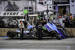October 7, 2017 - Petit Le Mans, USA - 20 BAR1 MOTORSPORTS (USA) ORECA FLM09 DON YOUNT (USA) BUDDY RICE (USA) DANIEL BURKETT  (Credit Image: © Panoramic via ZUMA Press)