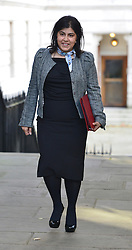 © Licensed to London News Pictures. 11/09/2012. Westminster, UK  Baroness Warsi. MP's arrive for Cabinet at number 10 Downing Street today 11/09/12. Photo credit : Stephen Simpson/LNP