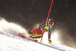 Ali Nullmeyer (CAN) during the Ladies' Slalom at 56th Golden Fox event at Audi FIS Ski World Cup 2019/20, on February 16, 2020 in Podkoren, Kranjska Gora, Slovenia. Photo by Matic Ritonja / Sportida