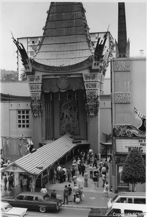 1977 Grauman's Chinese Theater