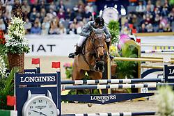 Cheronnet Aldrick, FRA, Tanael Des Bonnes<br /> Gothenburg Horse Show FEI World Cups 2017<br /> © Hippo Foto - Stefan Lafrentz<br /> 26/02/17