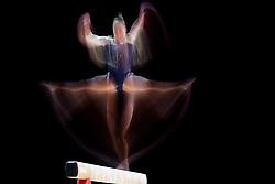 August 2, 2018 - Glasgow, UNITED KINGDOM - 180802 Thelma Adalsteinsdottir of Iceland competes at the beam in the women's qualification of Artistic Gymnastics during the European Championships on August 2, 2018 in Glasgow..Photo: Jon Olav Nesvold / BILDBYRÃ…N / kod JE / 160280 (Credit Image: © Jon Olav Nesvold/Bildbyran via ZUMA Press)