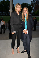 Sisters Edie Campbell and Olympia Campbell at the Tatler's English Roses 2017 party in association with Michael Kors held at the Saatchi Gallery, London England. 29 June 2017.<br /> Photo by Dominic O'Neill/SilverHub 0203 174 1069 sales@silverhubmedia.com