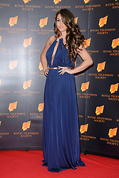 Brook Vincent attends the RTS Programme Awards. London, United Kingdom. Tuesday, 18th March 2014. Picture by Chris Joseph / i-Images