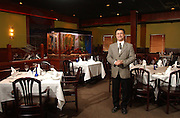 Z's Oyster Bar & Steakhouse: Proprietor Mahrzad Sharbaiani.