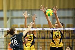 26-11-2015 SLO: Champions League Calcit Ljubljana - VakifBank Istanbul, Ljubljana<br /> Monika Potokar of Calcit Ljubljana and Milena Rasic of VakifBank Istanbul<br /> <br /> ***NETHERLANDS ONLY***