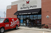 Exterior of the Butterfly Patio in Troy.