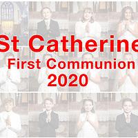 St Catherine 2020 1ST Communion Cover Slide