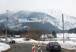 Traffic to the Ski Flying Hill Individual Competition at Day 1 of FIS Ski Jumping World Cup Final 2016, on March 17, 2016 in Planica, Slovenia. Photo by Vid Ponikvar / Sportida