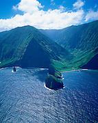 Pelekunu Valley, North Shore, Molokai, Hawaii, USA<br />